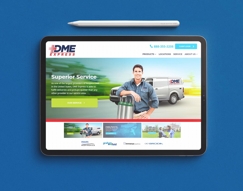 DME Express brand portfolio