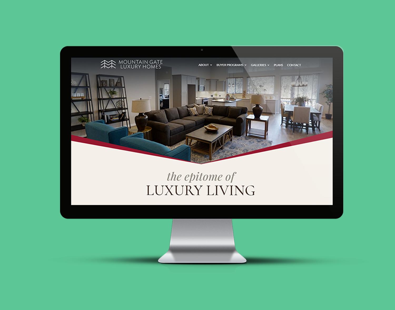 Mountain Gate Luxury Homes brand portfolio